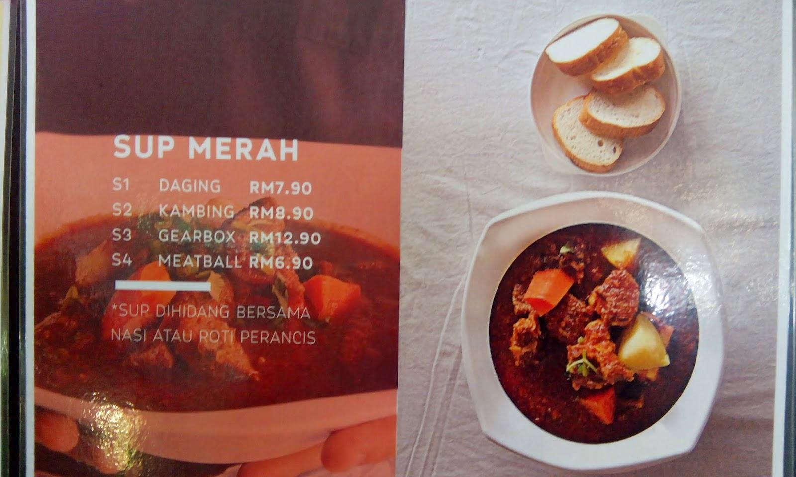 Faiqa Sup Merah dan Bubur Fauzi Aryaan