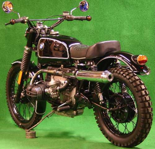 cafe racer special bmw r100 scrambler klassik. Black Bedroom Furniture Sets. Home Design Ideas
