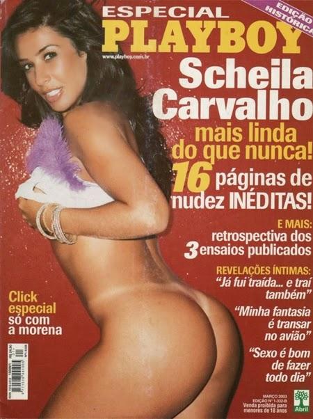 Scheila Carvalho nua