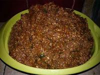 Resep Membuat Kuah Pecel, Sambal Pecel Lezat