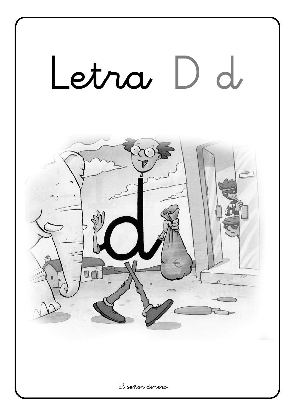 La letra D | d ~ La Eduteca