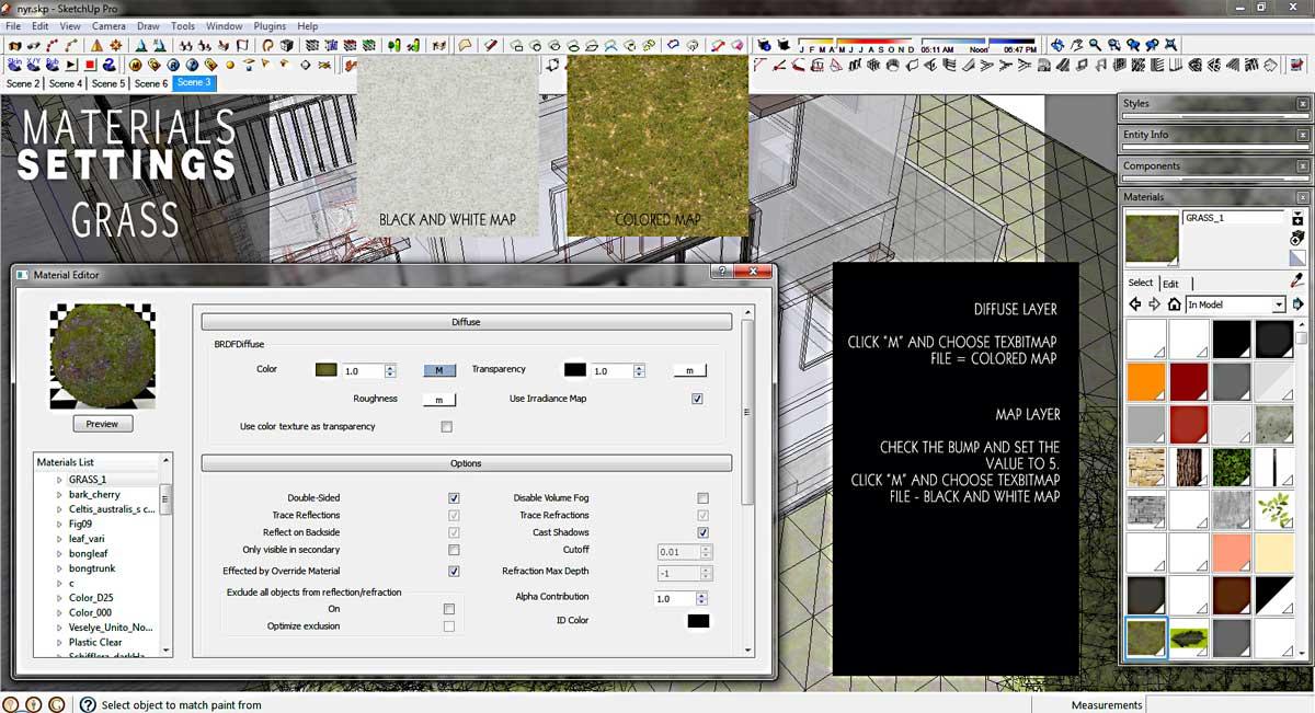 vray sketchup exterior render settings pdf