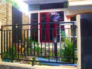 contoh pagar rumah minimalis modern   inspirasi dekor rumah