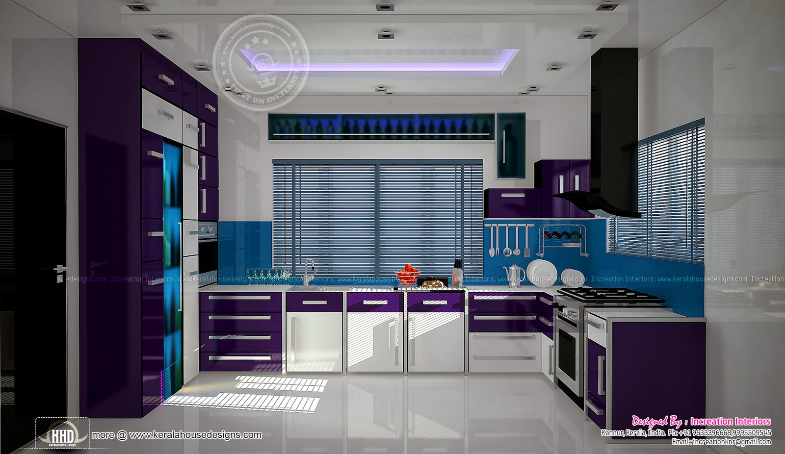 Modern kitchen for Modern kitchen designs in kerala