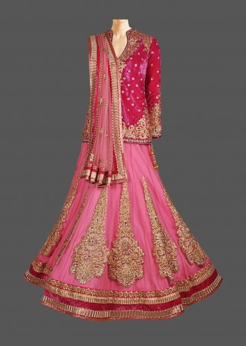 Moove Long Blouse Lehenga