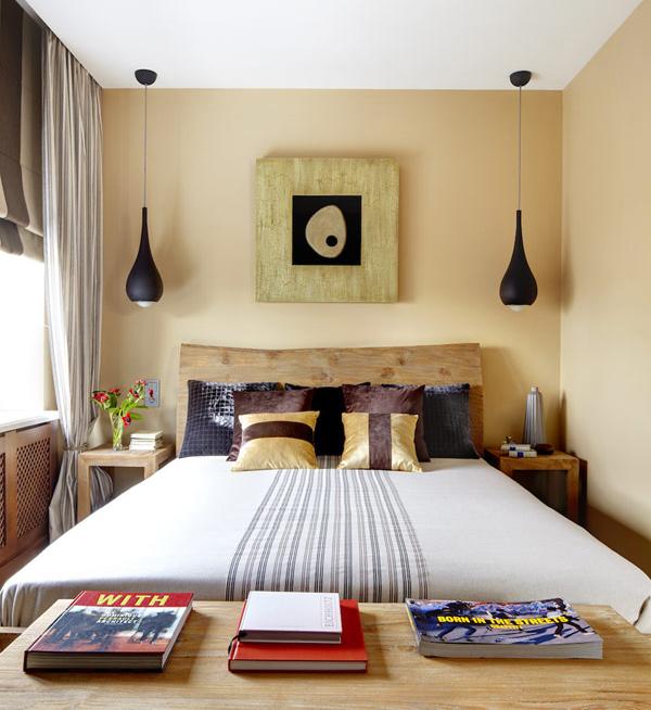 Espacio style ideas para dormitorios de matrimonio peque os - Lamparas para dormitorios de matrimonio ...