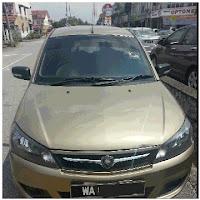 Kereta Sewa Klang Proton Saga FL