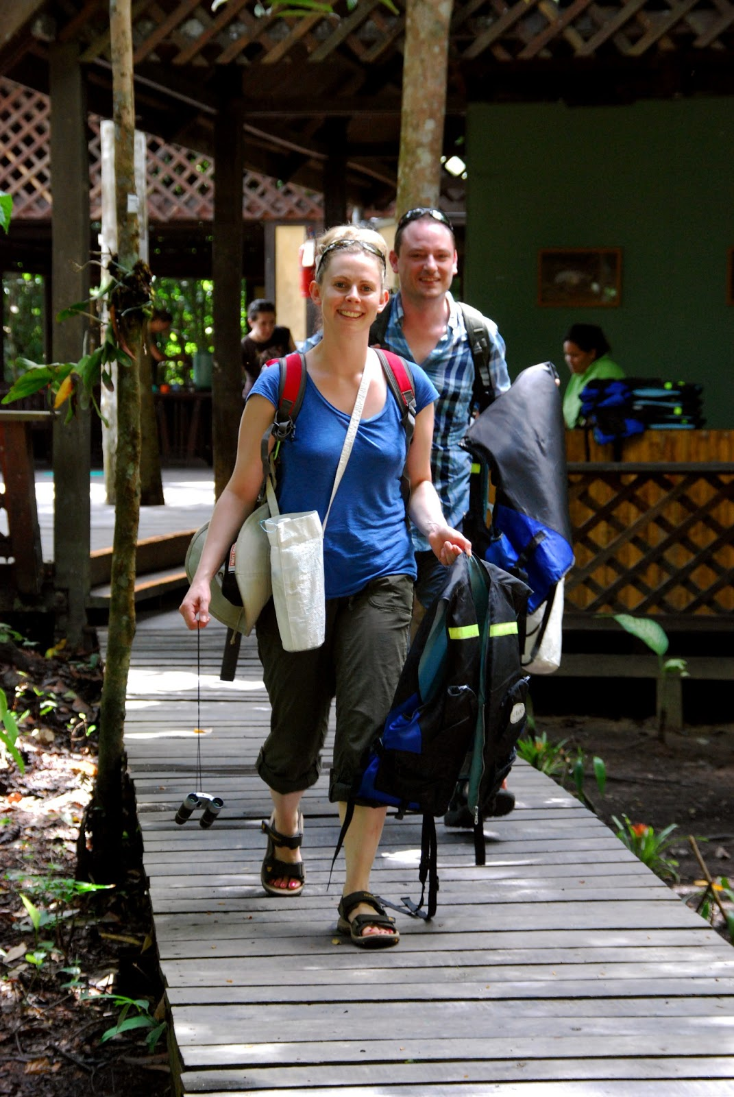Tungog Rainforest Eco Camp  Trec