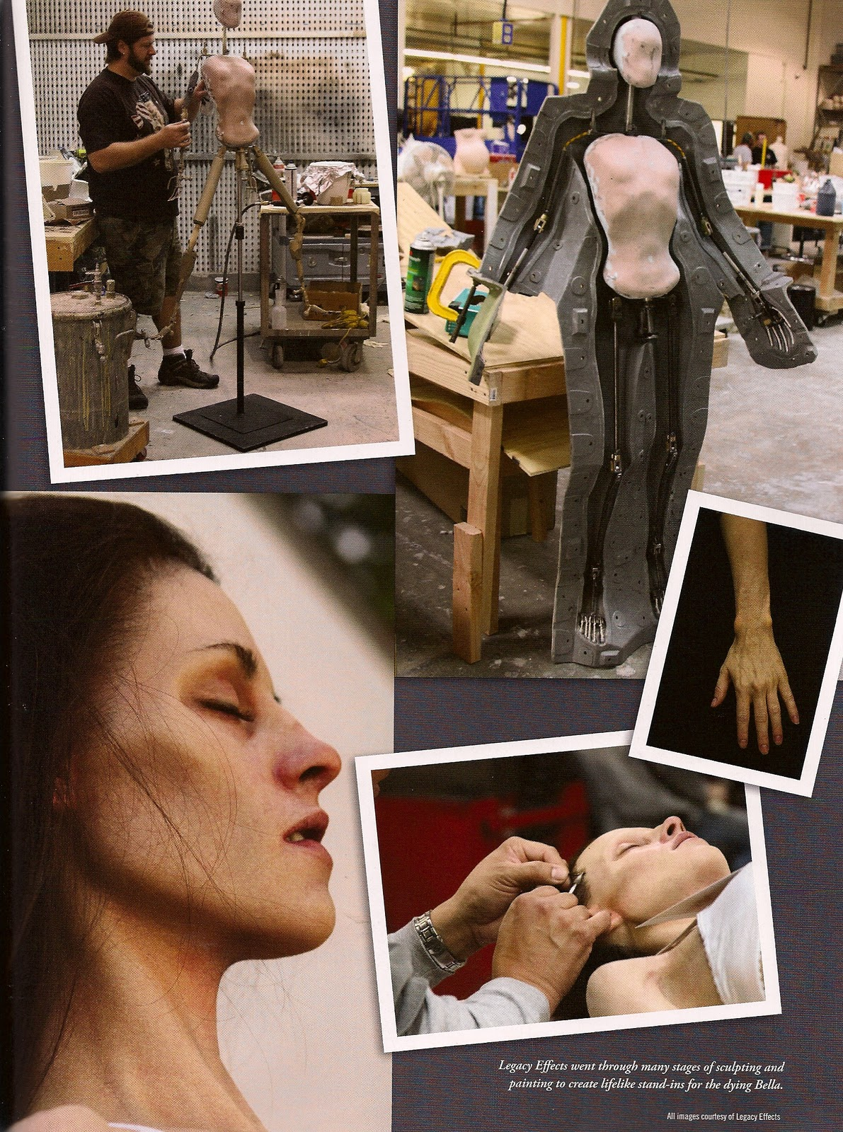 Making Kristen Stewart a Sick and Pregnant Bella in Breaking Dawn Part 1