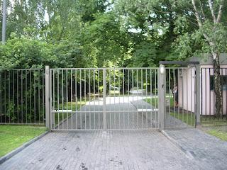 Забор металлический из профильной трубы. Фото 1