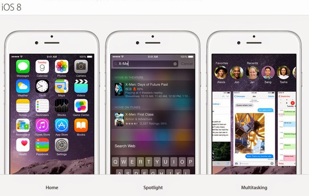iOS 8 Has Finally Arrived