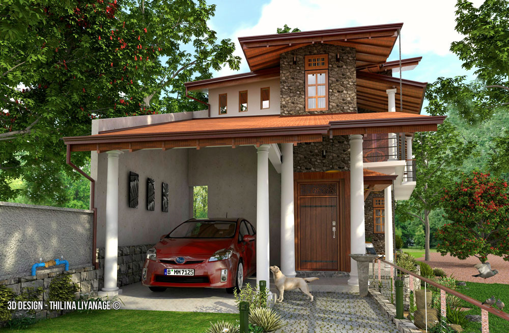Beautiful houses designs in sri lanka house design for Home design in sri lanka