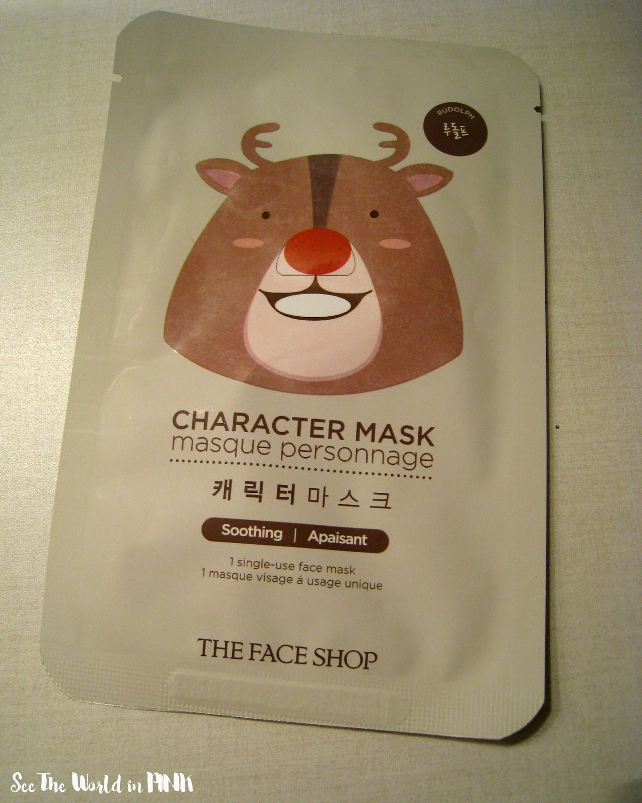 THEFACESHOP鲁道夫角色面具