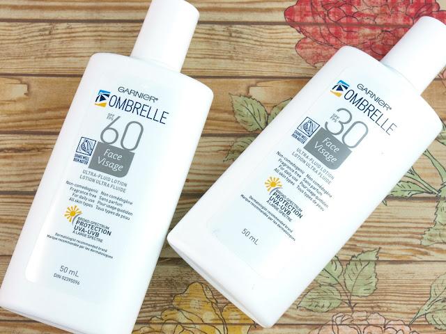 Garnier Ombrelle Ultra-Fluid Lotion SPF 30 & SPF 60 Sunscreen: Review