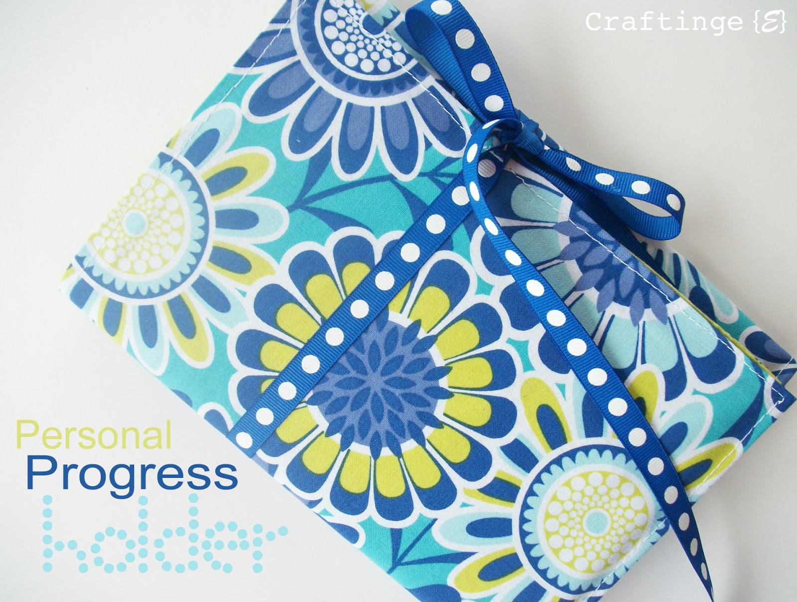 diy personal progress book holder craft o maniac