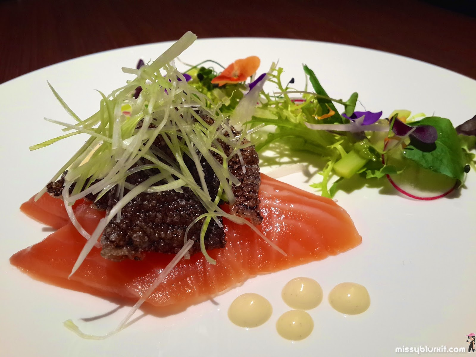 Christmas and new year 2015 intercontinental kuala lumpur for Salt cured fish