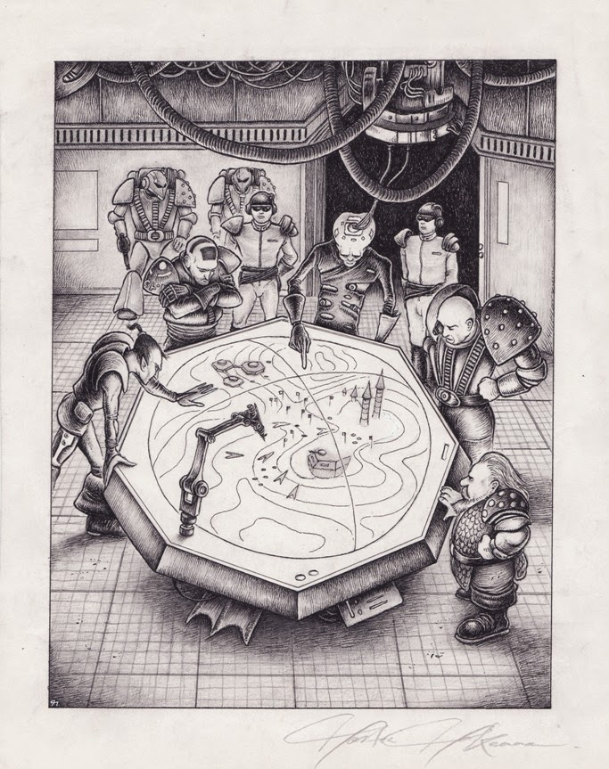 Magpie and Old Lead: Original Art - Part 6: Rogue Trader ...