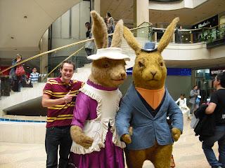 A 'bunny couple'!