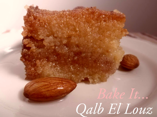 algerian qalb el louz recipe | Halal Home Cooking