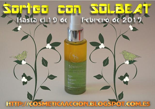 """¡SORTEO - Loción Facial y Corporal en aceite """"5 Seasons"""" de SOLBEAT!"""