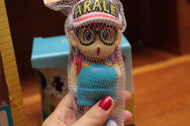 poupée anti stress docteur slump arale