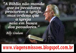 Ide por todo o mundo e pregai o Evangelho a toda criatura! Go into all the world and preach the Gos