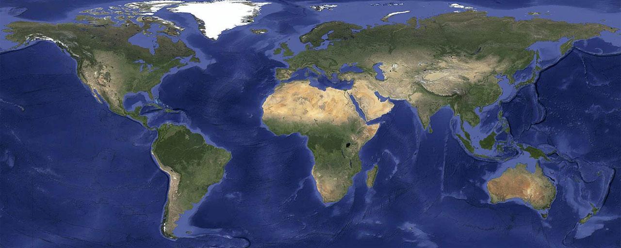 Haciendo desaparecer las nubes en google maps microsiervos internet as es la nueva vista global de google maps un mundo libre de nubes gumiabroncs Gallery
