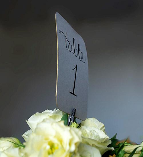 numery na stoliki - instrukcja jak zrobić DIY