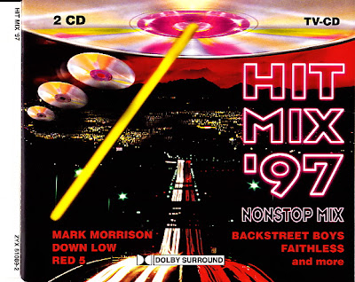 HIT MIX \'97  (2CD Set) 35 original artists non-stop mix (Album) 1997 Eurodance Hi-NRG Italo Disco Eurobeat 90\'s House \