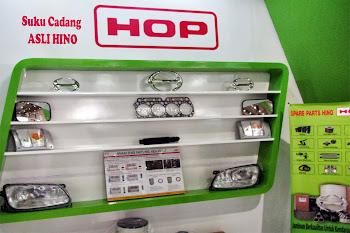 HOP (HMSI Original Parts) adalah  Suku Cadang ASLI HINO