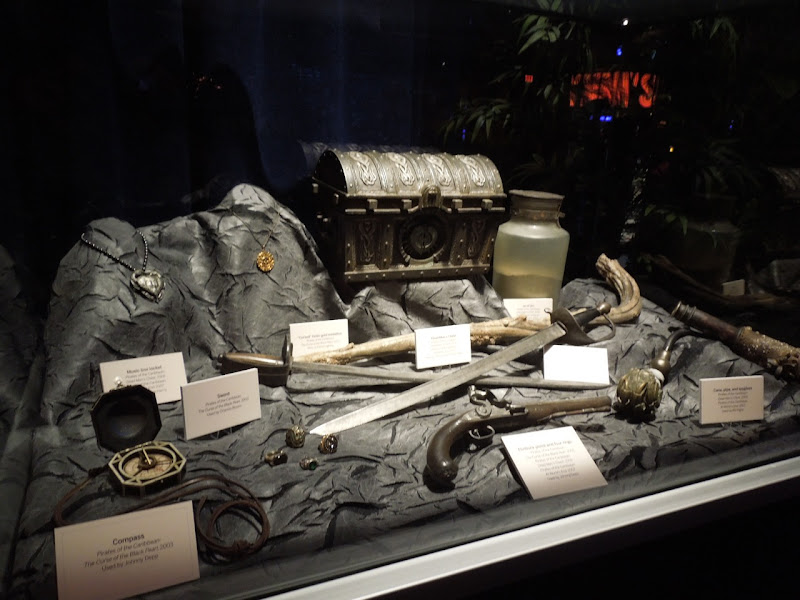 Pirates of Caribbean movie props