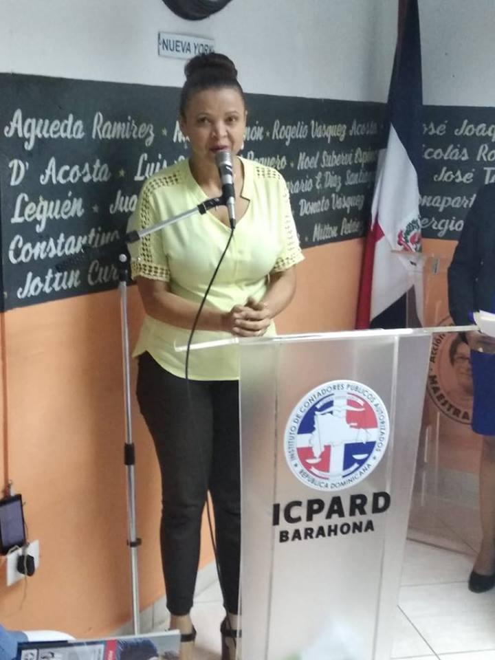 ANDREA JOSEFINA TAPIA, SEC. GENERAL JUNTA DIRECTIVA NACIONAL ICPARD
