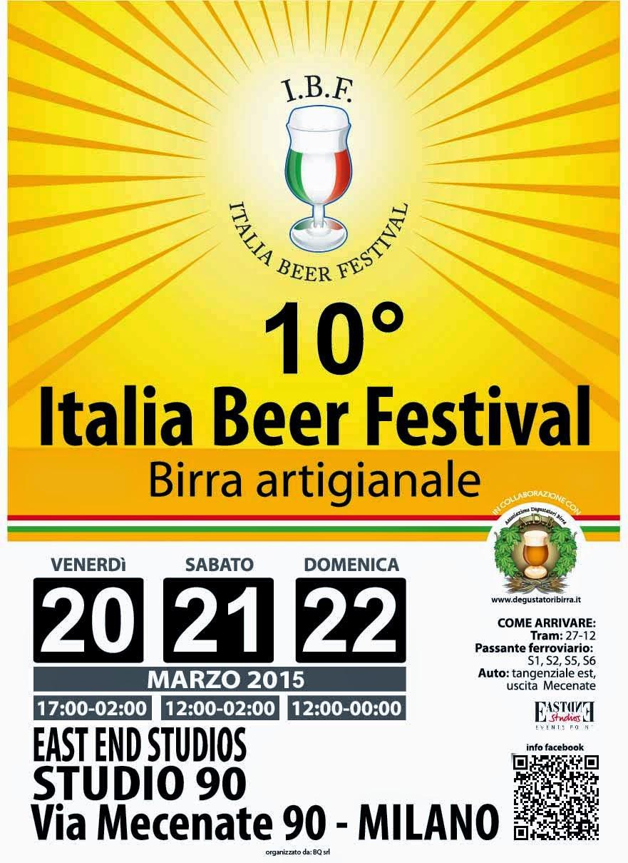 Italia Beer Festival 20 - 21-22 Marzo Milano