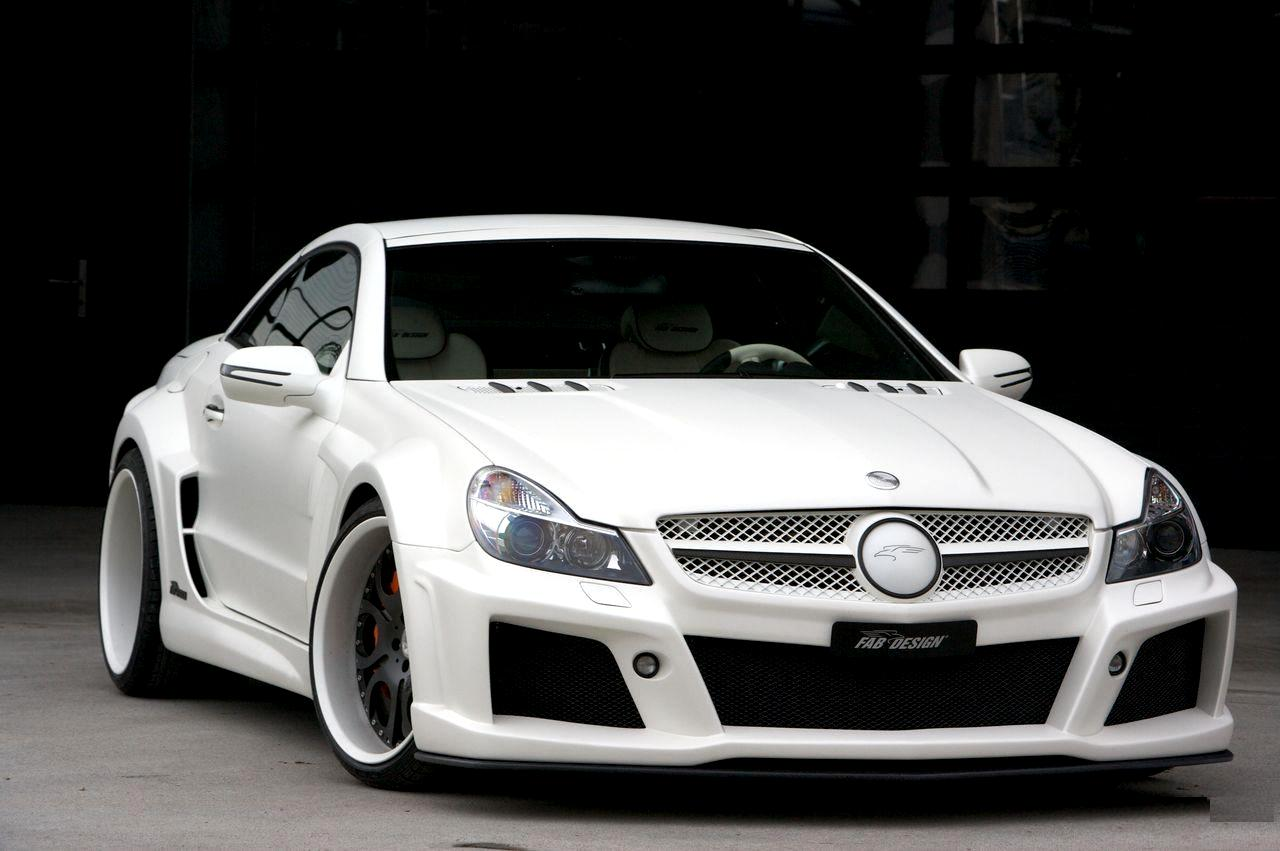mercedes benz sl500 r230 by fab design benztuning. Black Bedroom Furniture Sets. Home Design Ideas