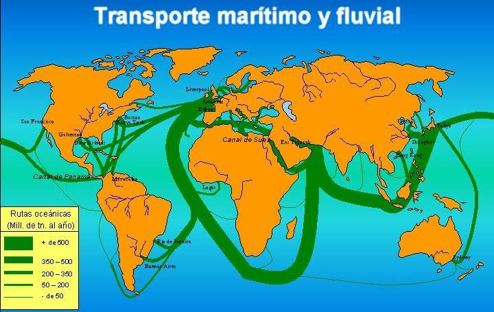las lineas internacionales: