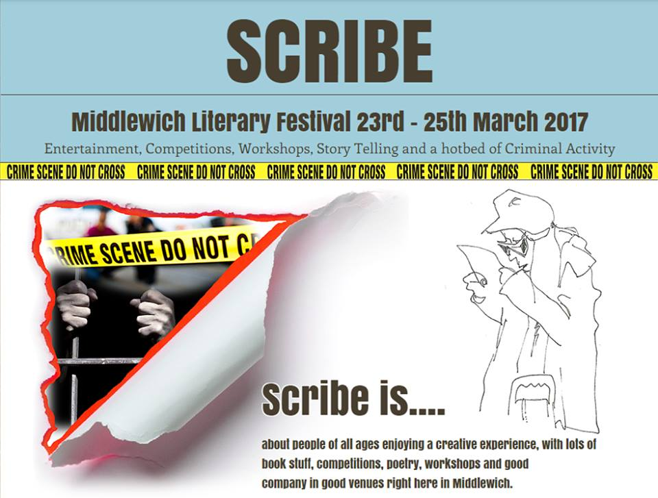 SCRIBE - THE MIDDLEWICH LITERARY FESTIVAL 2017