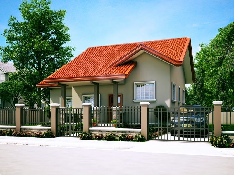 15 beautiful small house free designs bahay ofw for Small house architecture design philippines