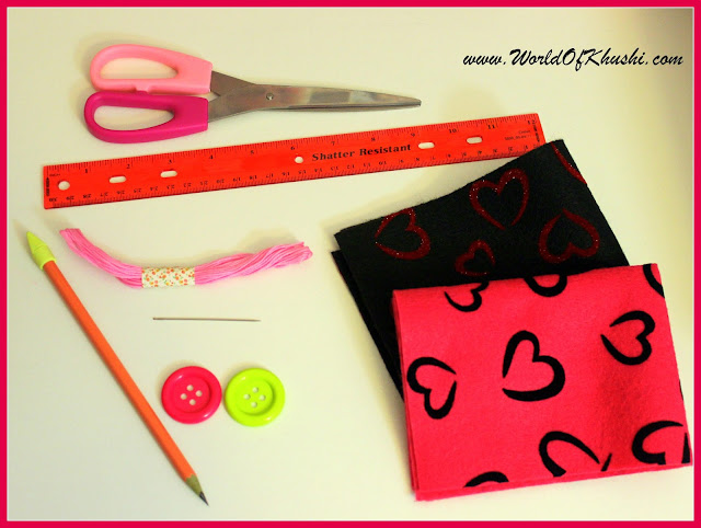 DIY Pencil Case - Khushi's World