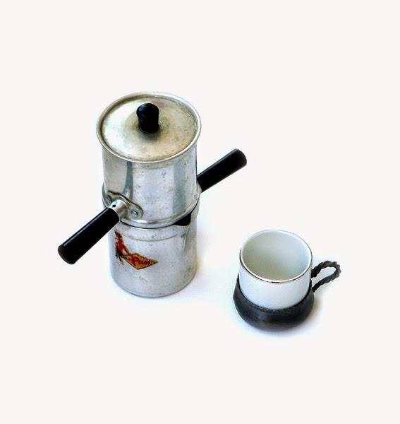 Neapolitan Flip Coffee Pot ~ Abc amo le belle cose antique italian coffee pot