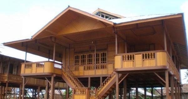 merancang sebuah rumah kayu minimalis dan indah kolom