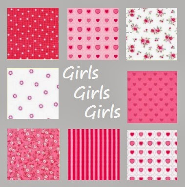 Girls, girls, girls, echte meidenstoffen
