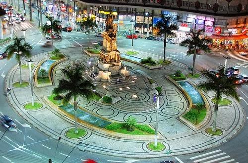 Santos - Függetlenség tér / Independence Sq