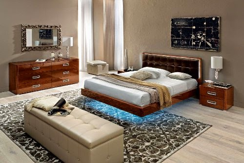 modern bedroom with european style designs