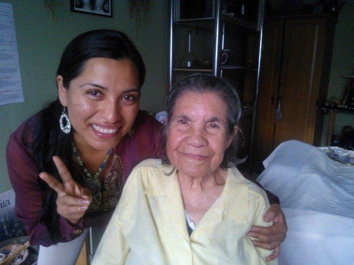 """Mi paciente mas """"joven"""" Dona  """"Vicenta"""" , paciente de conoterapia  2014"""