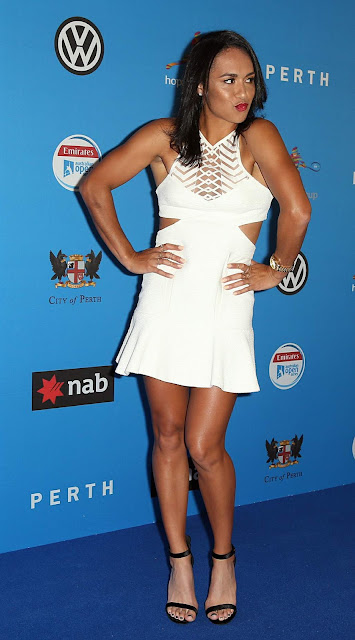 Tennis Player, @ Heather Watson Hopman Cup Players Party at Crown Perth