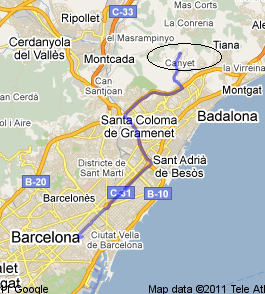 Como llegar desde Barcelona
