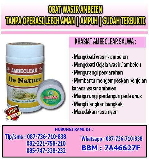 Merek Obat Wasir Hemoroid Herbal Ampuh
