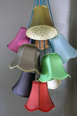 lampshade cluster light
