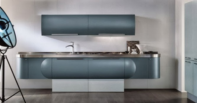 Cuisine Blanche Comptoir Noir : Une cuisine design venue dailleurs
