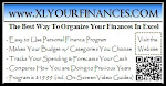 Excellent Personal Finance Workbook